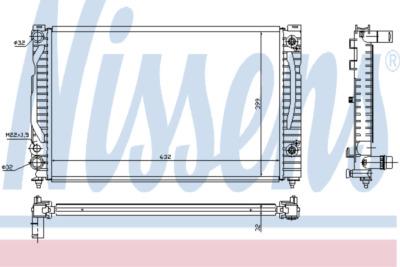 Chladič, chlazení motoru 60494A