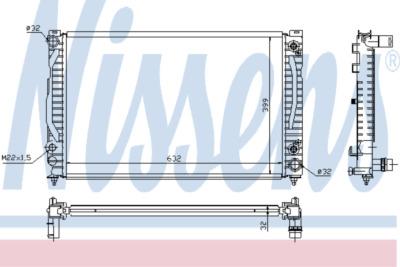 Chladič, chlazení motoru 60495A