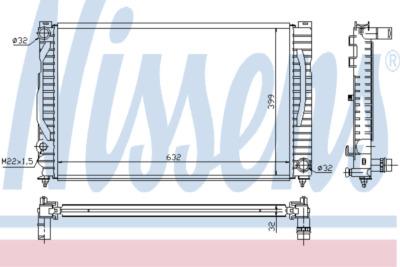 Chladič, chlazení motoru 60496A