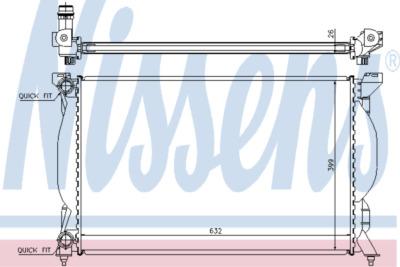 Chladič, chlazení motoru 60304