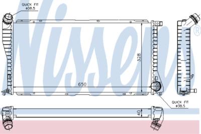 Chladič, chlazení motoru 60634