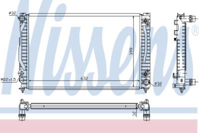 Chladič, chlazení motoru 60498A