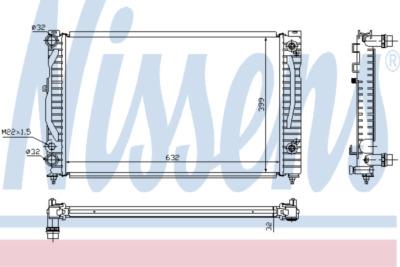 Chladič, chlazení motoru 60499A