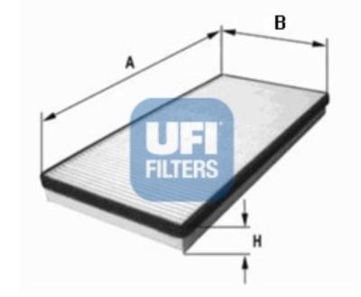 Filtr, vzduch v interiéru 53.062.00