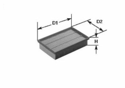Vzduchový filtr MA 125