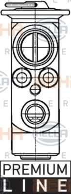 Expanzní ventil, klimatizace 8UW 351 234-151