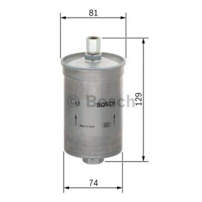 palivovy filtr 0 450 905 087