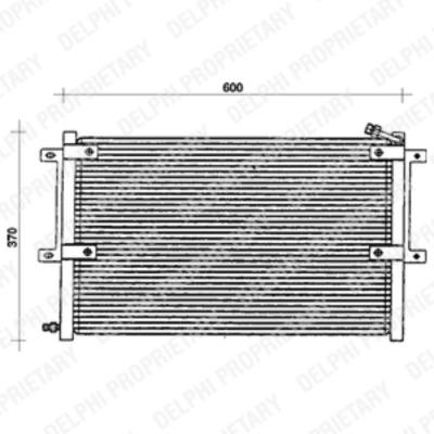 Kondenzátor, klimatizace TSP0225100
